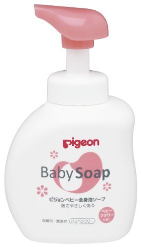 Pigeon systemic foam soap Flower scent bottle 500ml (0 months to) by Pigeon