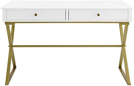Linon Home Decor Products Harli Two-Drawer Campaign