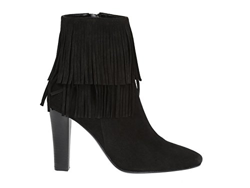 authentic cheap online low shipping fee for sale Saint Laurent Women's 441319DPU001000 Black Suede Ankle Boots outlet eastbay outlet prices outlet online hX4Yt