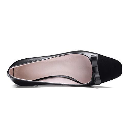 Noir AN Compensées 36 EU Femme DGU00796 5 Noir Sandales qaaTwUXz