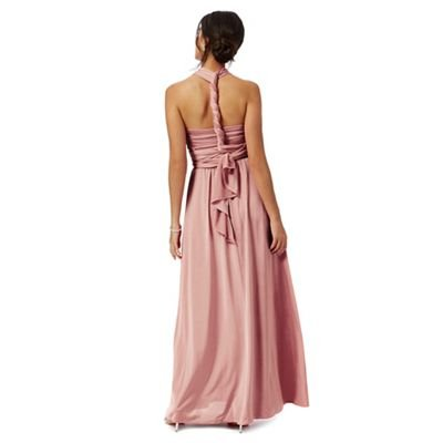 Debut Womens Pink Multiway Evening Dress 18: Debenhams: Amazon.co.uk: Clothing