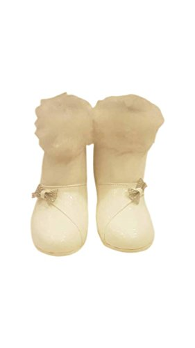 Prince and Diva Wardrobe Kids Party Boots Faux Fur US 5
