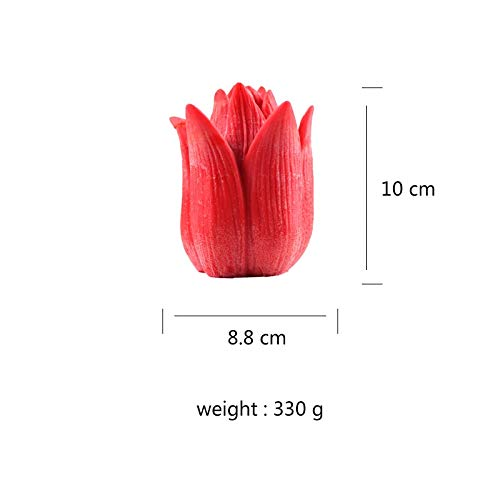 Water hep Candle Mold Silicone Candle Mold 3D Flower Handmade Soap Making Mould