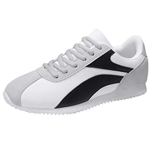(Sport Shoes Nike_Design,LYN StarMen Running Lightweight+Breathable Casual Sports Shoes Fashion Sneakers Walking Shoes White)