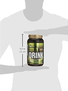 GoldNutrition Gold Drink Isotónico, Sabor Limón - 1000 gr: Amazon.es: Salud y cuidado personal