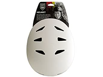 Shaun blanco Supply Co. Protective - Casco de skateboarding, tamaño S / M Tamaño, color blanco