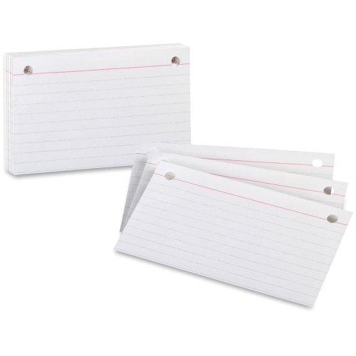 Index Card Binder Refill - Oxford Printable Index Card - 3