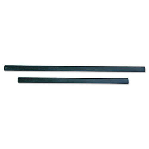 (Unger ErgoTec Replacement Squeegee Blades, 12 Inches, Black Rubber, Soft - one 12 inch soft rubber squeegee replacement blade.)