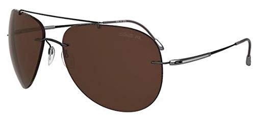 Silhouette Gafas de Sol ADVENTURER 8667 BLACK DARK SILVER ...