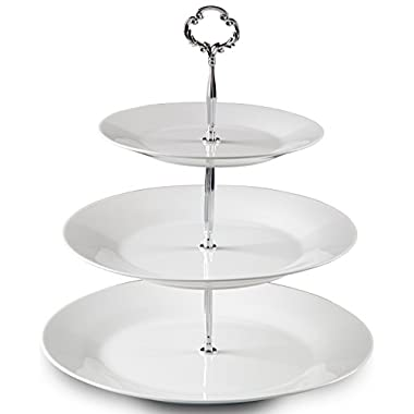 Klikel 3 Tier Cake Stand, Cupcake And Dessert Centerpiece