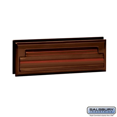 Salsbury Industries Standard Mail Slot, Letter Size, Antique - 4035A by Salsbury Industries (Image #1)
