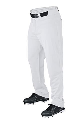Wilson Mens Pro T3 Premium Relaxed Fit Baseball Pant White -