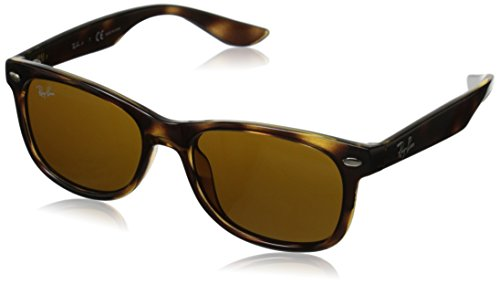 Ray-Ban Junior 0rj9052s Square, Shiny Black, 50 mm (New Wayfarer Junior)