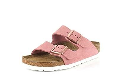 Birkenstock Unisex Arizona Rose Sandals - 5-5.5 2A(N) US Women