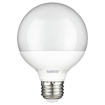 Sunlite G25/LED/7W/D/FR/ES/27K Led G25 Globe 7W (60W Relacement) Frosted Light Bulb Medium (E26) Base, 2700K Warm White Light