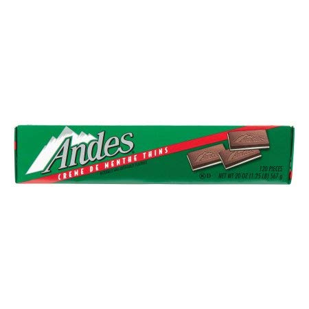 Andes Creme De Menthe Thins, 120 Ct (Pack Of 2) by Andes (Image #1)