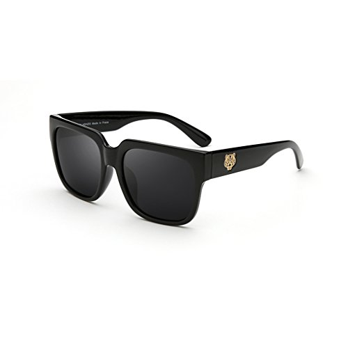Box Lunettes B Sunglasses Couleur Tiger Soleil Lunettes de Big des Head A UZ8qw