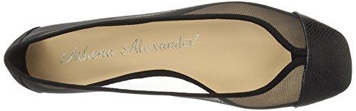 Athena Black Alexander Alanna Women's Flat Ballet Snake xraTxpXwq