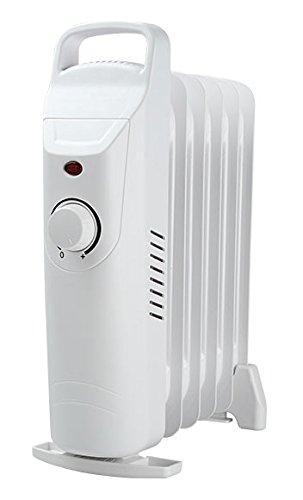 Radiador de aceite 500 W, radiador eléctrico, calefactor de HD952