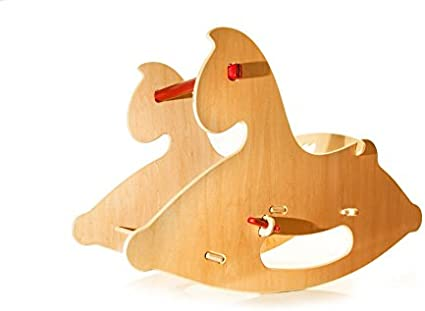 HABA Moover Rocking Horse Red