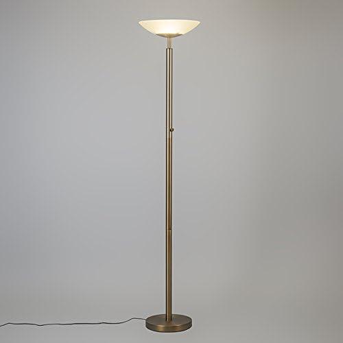 Floor Lamp Uplighter Pisa Bronze