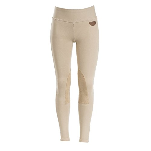 - Horze Spirit Kids Knee Patch Active Tights S Brown