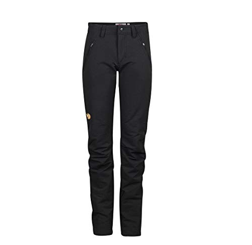 Oulu Negro W Black Pantalón Trousers Mujer Fjällräven TpCqdwC