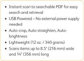 Xerox Travel Scanner 150