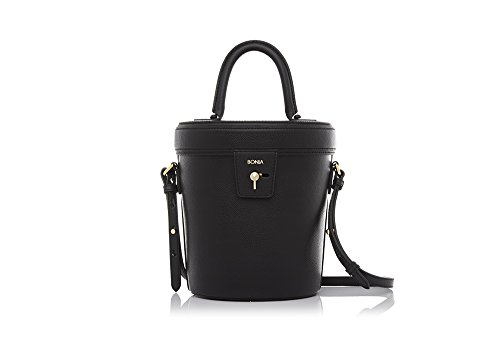 bonia-womans-mysterious-black-audrey-bucket-bag