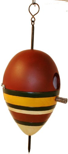 Antique Fishing Bobber Birdhouse by Wildlife Creations