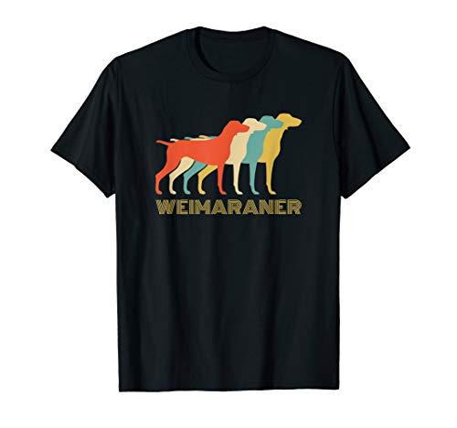Breed Weimaraner T-shirt - Weimaraner Dog Breed Vintage Look T-Shirt