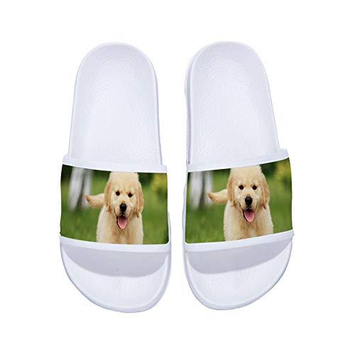 maggilee Women,Non Slip Shower Shoes,Wash Room Bathroom Bedroom Swimming Indoor & Outdoor Floor Slipper,White,9B(M) US -