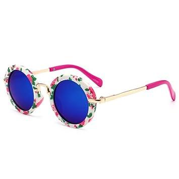 DXXHMJY Gafas de Sol Gafas de Sol Redondas Vintage ...