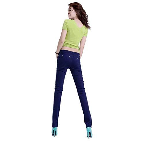 Slim Rxf Estivi Da 6 Donna Sottili Fianchi Con Pantaloni Jeans pXXCxwqZ