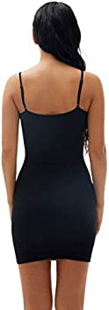 Fay Fay Shapewear Dress Slip Lace Slip Under Dress Cami Layering Shaping Dress Body Shaper for Womens Control Full Slips