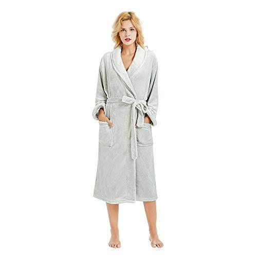 extra long bathrobes for women - 8