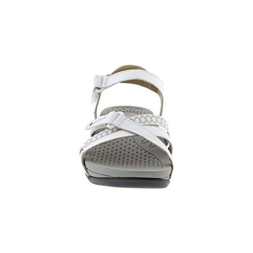 Earth Spirit Pittsburgh - White (Leather) Womens Sandals White o8jtzZcq1