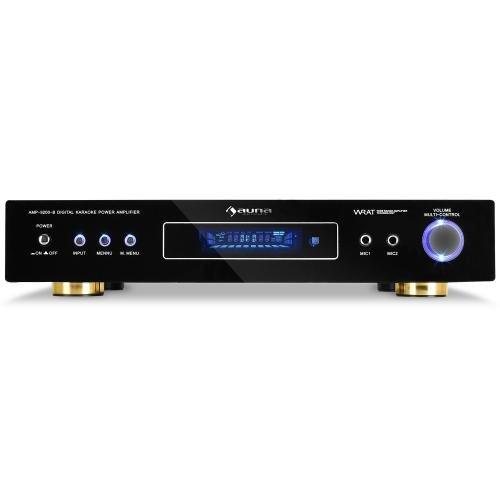 Auna AV1-AMP-9200-B 5.1 Kanal Surround Verstärker mit Radioempfang  (600 Watt) schwarz