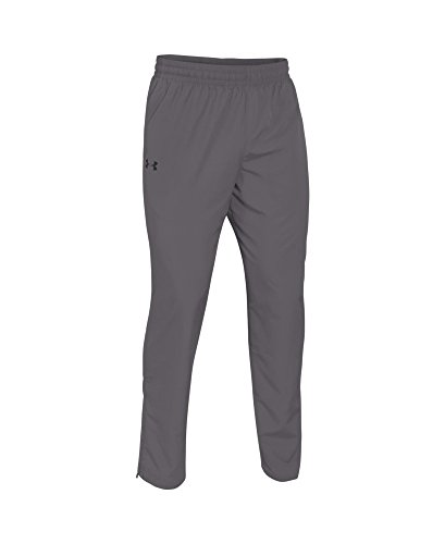 Under Armour Men's Vital Warm-Up Pants, Graphite /Black, Large by Under Armour (Image #3)