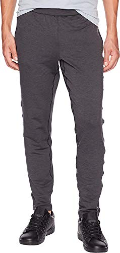 Brooks Men's Notch Thermal Pants Heather Black/Asphalt Medium 31 31