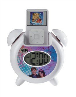 High School Musical iConnect MP3 alarma: Amazon.es: Hogar