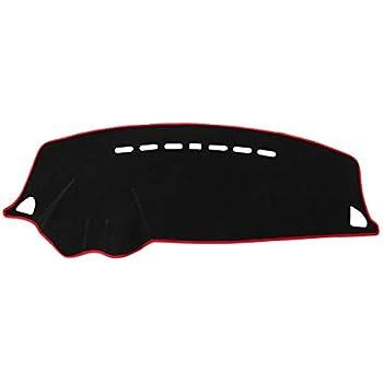 QPMY Flannel Dashmat Dashboard Cover Dash Pad Car Mat Carpet Sun Shade for Ford Explorer 2011 2012 2013 2014 2015 2016 2017 2018 Anti-Slip Dash Board Cover Auto Accessories