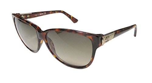 Just Cavalli Women's JC415S Acetate Sunglasses BROWN 58