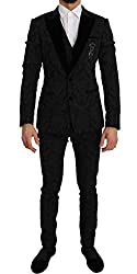 Slim Fit 3 Piece Crystal Bee Suit