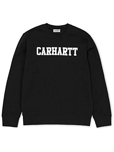 Nero Carhartt Uomo Carhartt Carhartt Nero College Felpa College Uomo College Felpa Felpa xIEqH6wR4