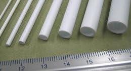 模型材料・工作材料 TBFS-12 パイプ(スチレン樹脂) 外径9.5mm 1本