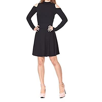 Dani's Choice Multi-Style High Waist A-line Flared Skater Mini Skirt at Women's Clothing store