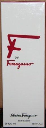 F by Ferragamo Body Lotion, 13.5 fl oz / 400 ml (BOXED/SEALED)