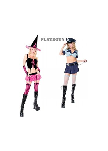 Sexy Playboy Witch and Cop Kit - Playboy Sexy Witch