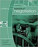 img - for R. Lewicki's B. Barry's D. Saunders's Essentials (Essentials of Negotiation (Paperback)) 2006 book / textbook / text book